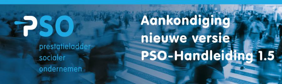 Aankondiging PSO-Handleiding 1.5