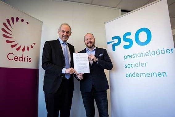 PSO-Nederland en Cedris tekenen Samenwerkingsovereenkomst PSO 30+