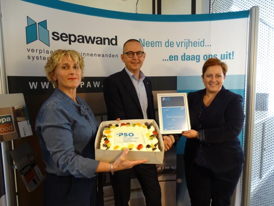Sepawand uit Nijverdal behaalt PSO trede 1