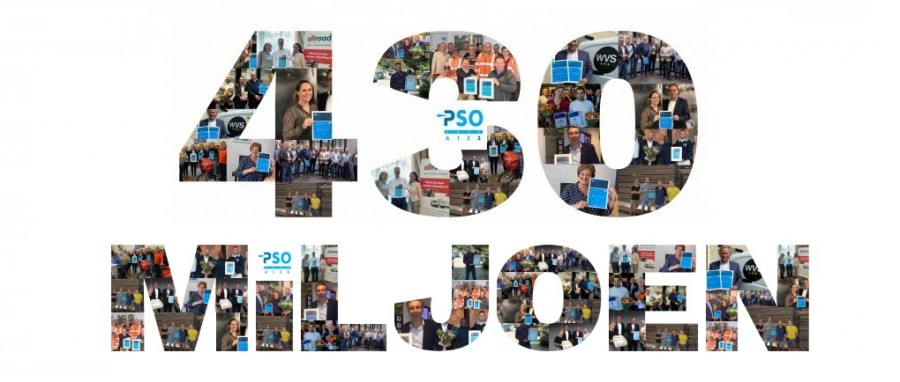 Steeds groter deel van het Nederlandse bedrijfsleven omarmt sociaal inkopen gericht op arbeidsparticipatie: PSO-gecertificeerde organisaties hebben nu al voor 430 miljoen euro bij elkaar ingekocht.