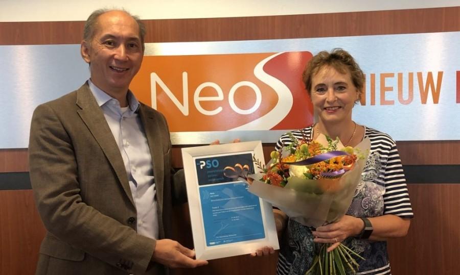 Neos verlengt PSO-certificaat voor Trede 3: 'Wij richten ons op de mogelijkheden'