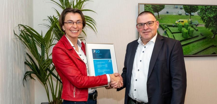 Van de Bijl & Heierman groeit op PSO-prestatieladder